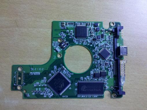 西数移动硬盘电路板
