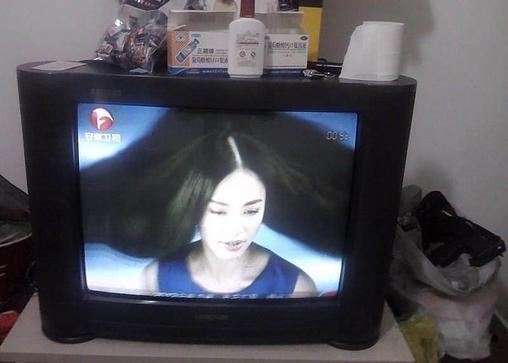 25寸长虹彩色电视机个人转让-crt普通电视-二手库