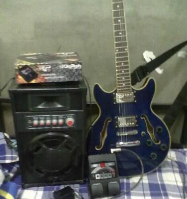 国产fender电吉他及效果器rp70音箱10g